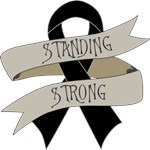 Skin Cancer Standing Strong Shirts
