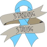 Prostate Cancer Standing Strong Shirts