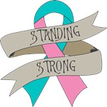 Hereditary Breast Cancer Standing Strong Shirts