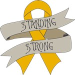 Appendix Cancer Standing Strong Shirts
