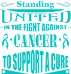 Ovarian Cancer Standing United Shirts