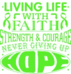 Muscular Dystrophy Living Life With Faith Shirts