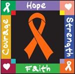 Skin Cancer  Courage Hope Shirts