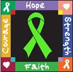 Lymphoma Courage Hope Shirts