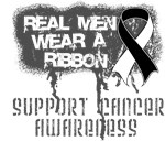 Carcinoid Cancer Real Men Wear a Ribbon Shirts
