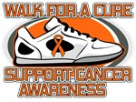 Leukemia Walk For A Cure Shirts