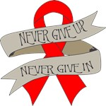 Blood Cancer Never Give In Shirts