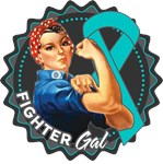 Ovarian Cancer Fighter Gal Shirts
