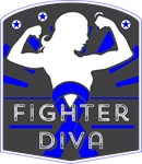 Colon Cancer Fighter Diva Shirts
