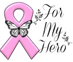 Breast Cancer For My Hero Shirts