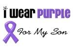 I Wear Purple For My Son