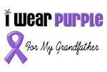 I Wear Purple For My Grandfather