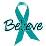 Ovarian Cancer Believe T-Shirts & Gifts