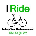 I Ride For The Environment T-Shirts & Gifts