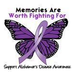 Memories Are Worth Fighting Alzheimer's T-Shirts