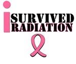 I Survived Radiation Breast Cancer T-Shirts