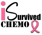 I Survived Chemo Breast Cancer T-Shirts