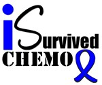 I Survived Chemo Colon Cancer T-Shirts