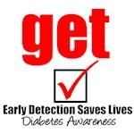Get Checked Diabetes Awareness T-Shirts