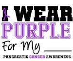 I Wear Purple Pancreatic Cancer T-Shirts & Gifts