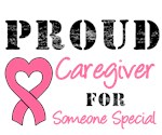 Proud Caregiver Breast Cancer T-Shirts & Gifts
