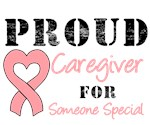 Proud Caregiver Endometrial Cancer Shirts & Gifts