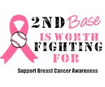 2nd Base Breast Cancer T-Shirts & Gifts