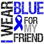 I Wear Blue Colon Cancer Friend Shirts & Gifts