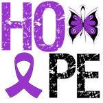 Pancreatic Cancer Hope Butterfly Shirts & Gifts
