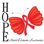 Heart Disease HopeButterfly