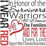 Heart Disease Tribute Ribbon