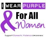 Purple Ribbon All Women