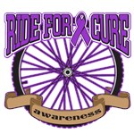 Pancreatic Cancer Ride For Cure Shirts & Gifts