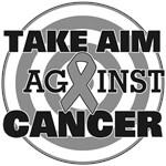 Take Aim Against Brain Cancer Shirts & Gifts