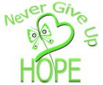 Muscular Dystrophy Never Give Up Hope Shirts