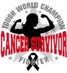 Skin Cancer Tough Survivor Shirts