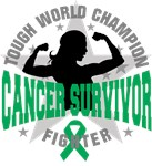 Liver Cancer Tough Survivor Shirts