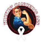 Kickin' Lung Cancer's Ass Shirts