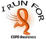 I Run For COPD Awareness Shirts