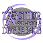 General Cancer Together We Make A Difference Tees