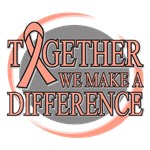 Endometrial Cancer We Make A Difference Tees