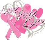 Breast Cancer Love Hope Cure Shirts