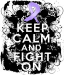 General Cancer Keep Calm Fight On Shirts