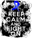 Anal Cancer Keep Calm Fight On Shirts