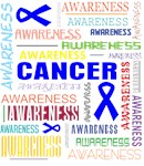 Anal Cancer Awareness Collage Shirts