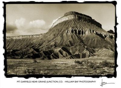 Mt Garfield, Grand Junction, Colorado