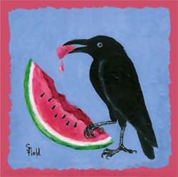 Crow & Watermelon