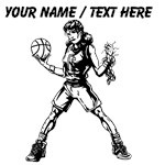 Custom Girl Basketball Player