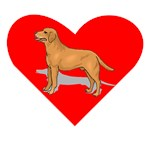Labrador Retriever Heart
