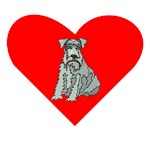 Kerry Blue Terrier Heart